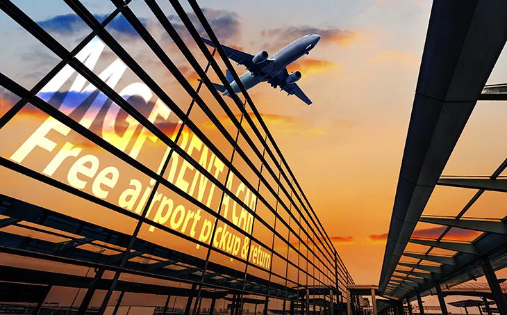 zero taxe de livrare si colectare la aeroport